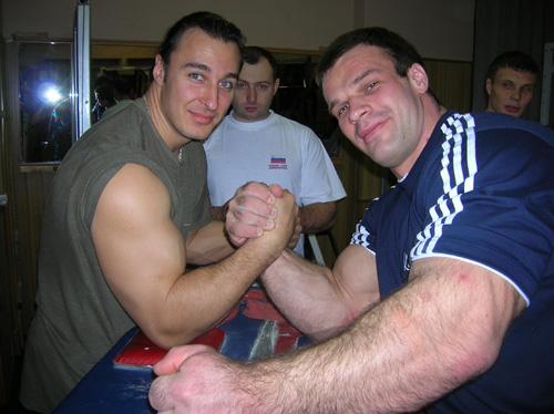 Денис Цыпленков и Алексей Воевода