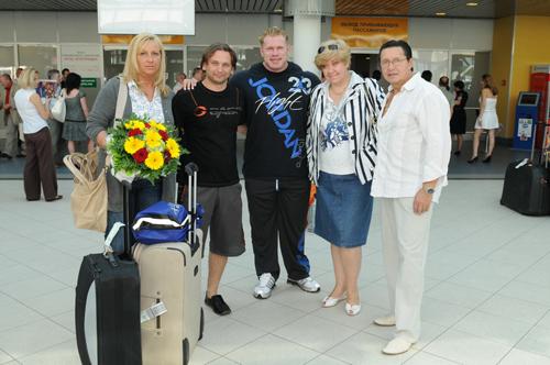 Супруга Денниса Вульфа, Роман Джабелов, Деннис Вульф, Елена Рябинква, Владимир Дубинин