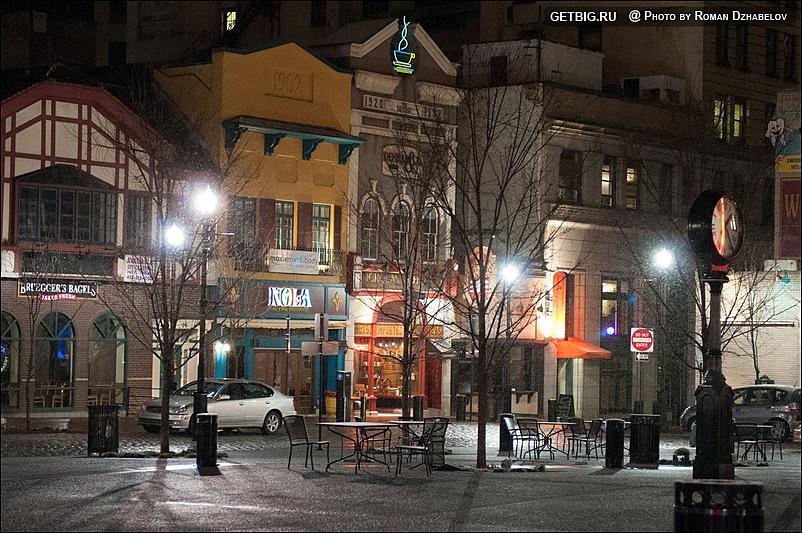 Центральная площадь Питсбурга
