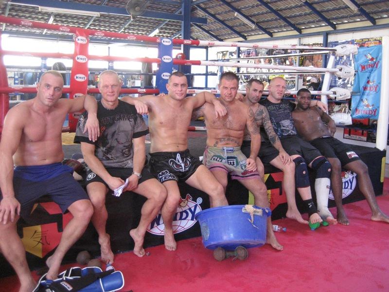 На сборах в Тайланде