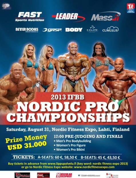 Афиша Nordic Pro-2013