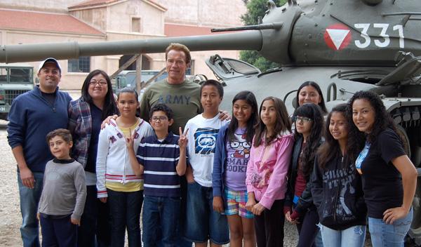 Арнольд Шварценеггер и его танк «Шерман»
