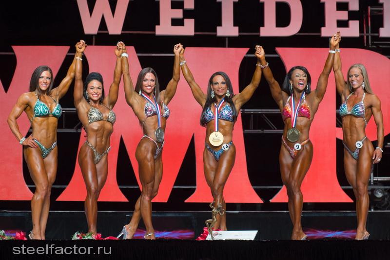 Фитнес, финалистки