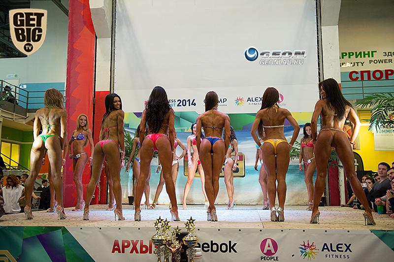 Участницы номинации «Фитнес-бикини»