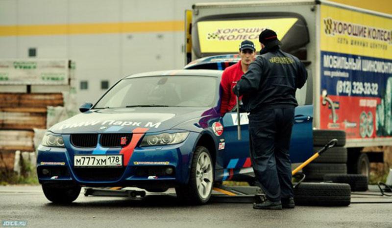 Александр Федоров на автогонках