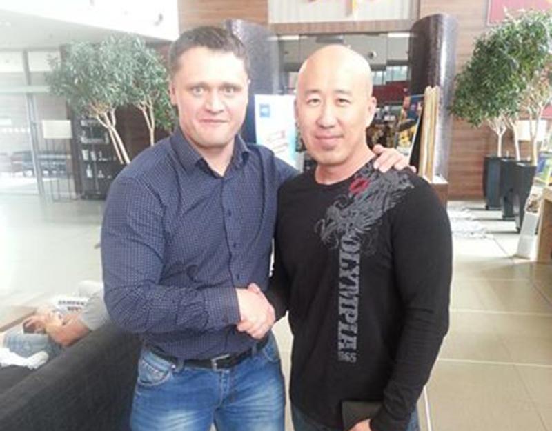 Денис Логинов и Робин Чанг