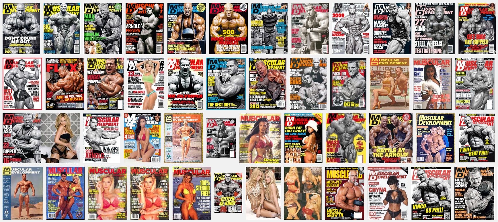 Журнал «Muscular Development»