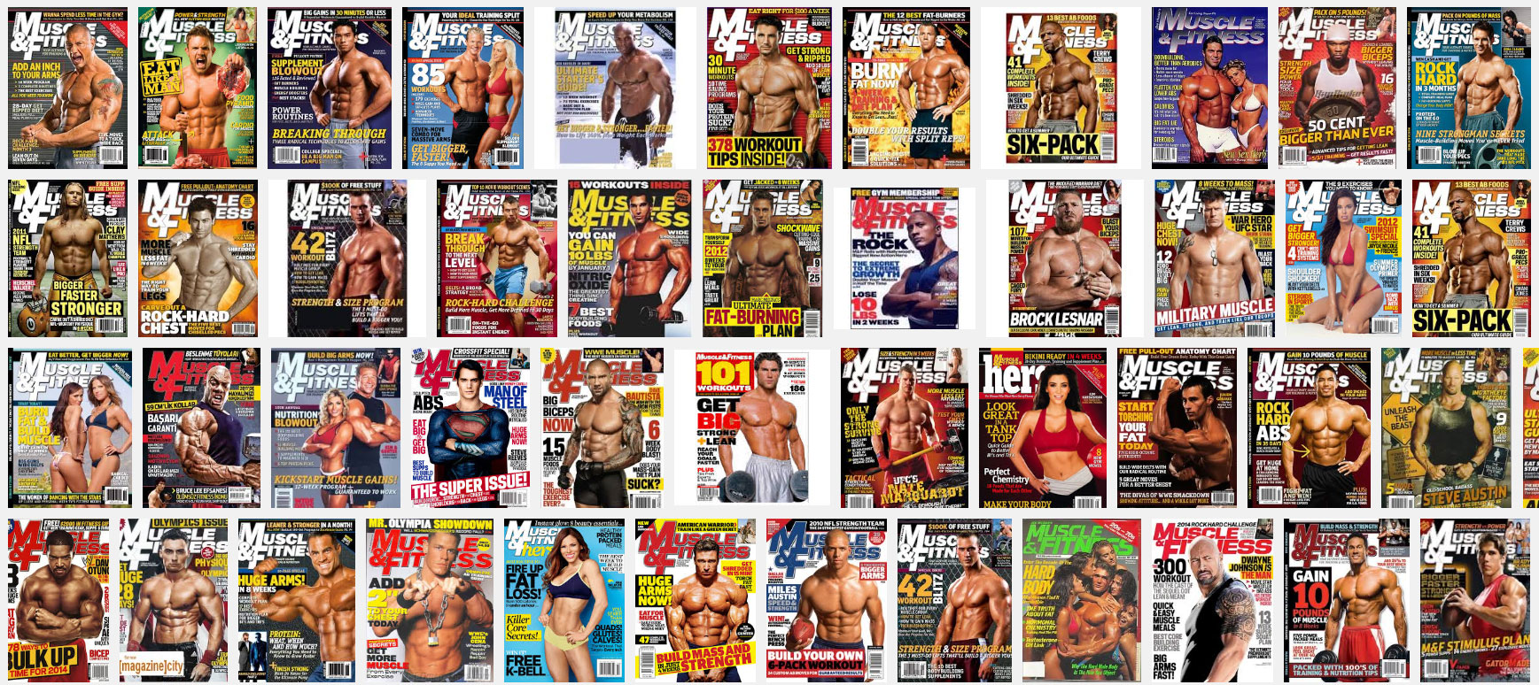 Журнал «Muscle and Fitness»