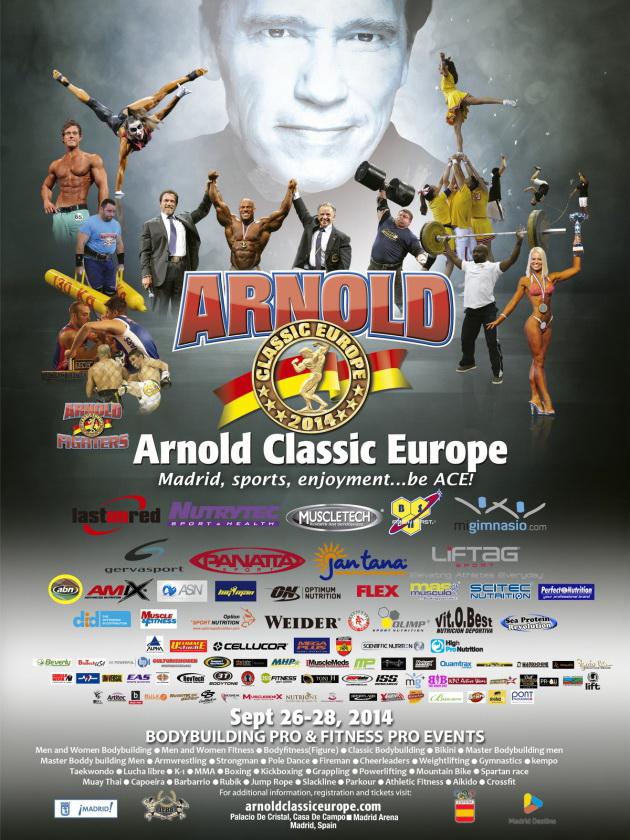 «Арнольд Классик Европа»-2014