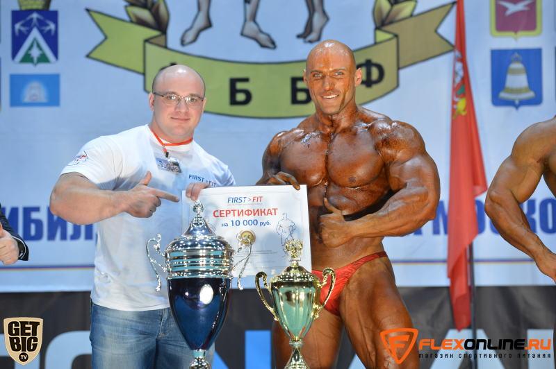 Кисилев Сергей - абсолютный чемпион в бодибилдинге