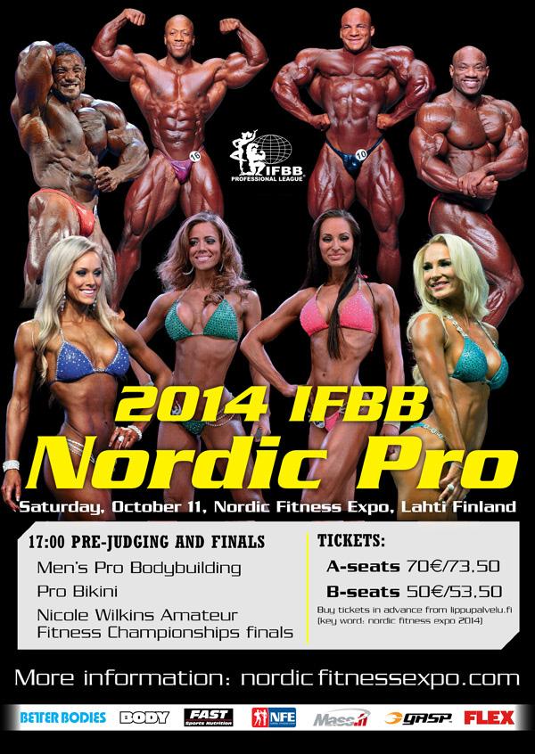 IFBB Nordic Pro Championships - 2014