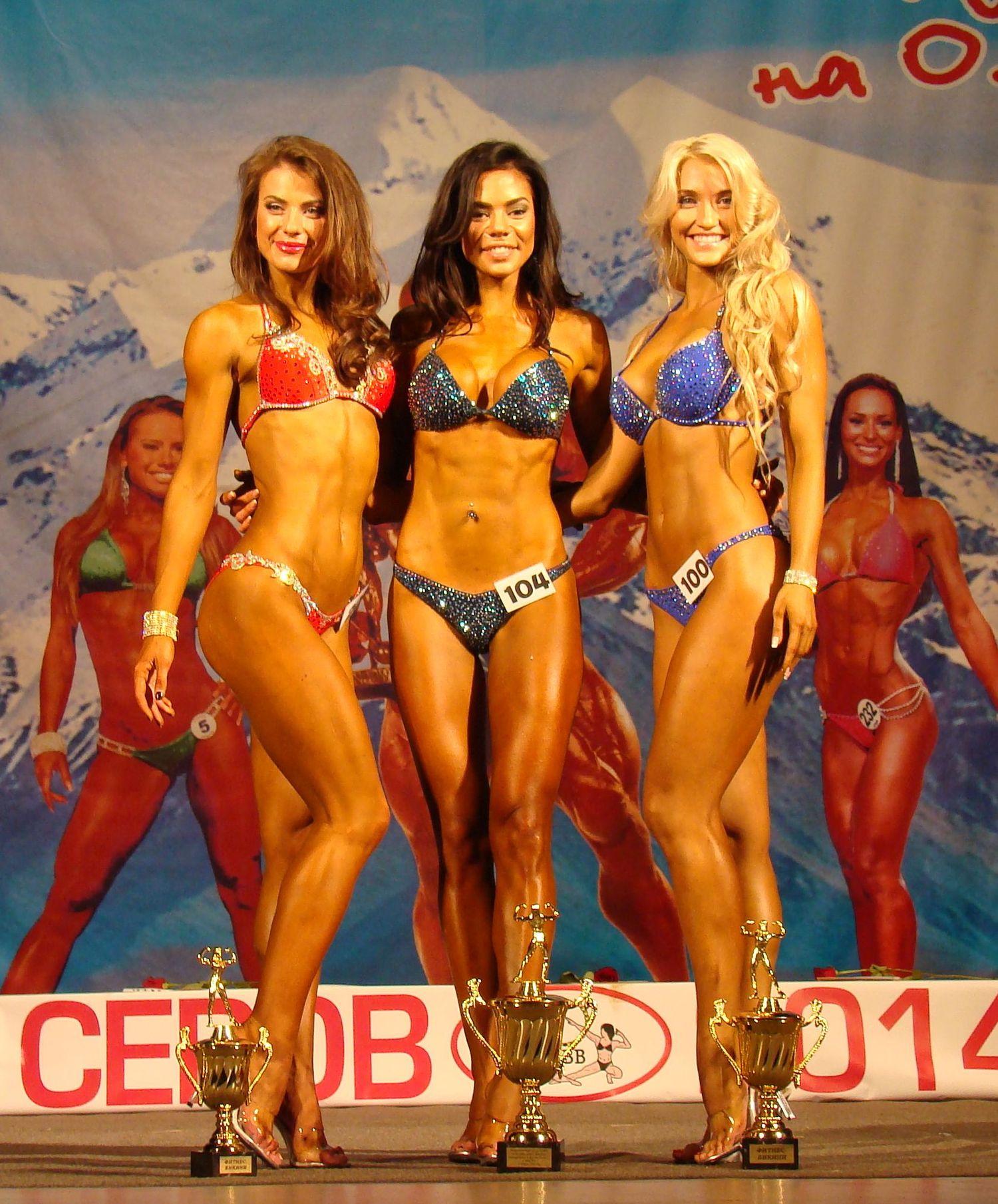 Фитнес-бикини свыше 166 см, призерки