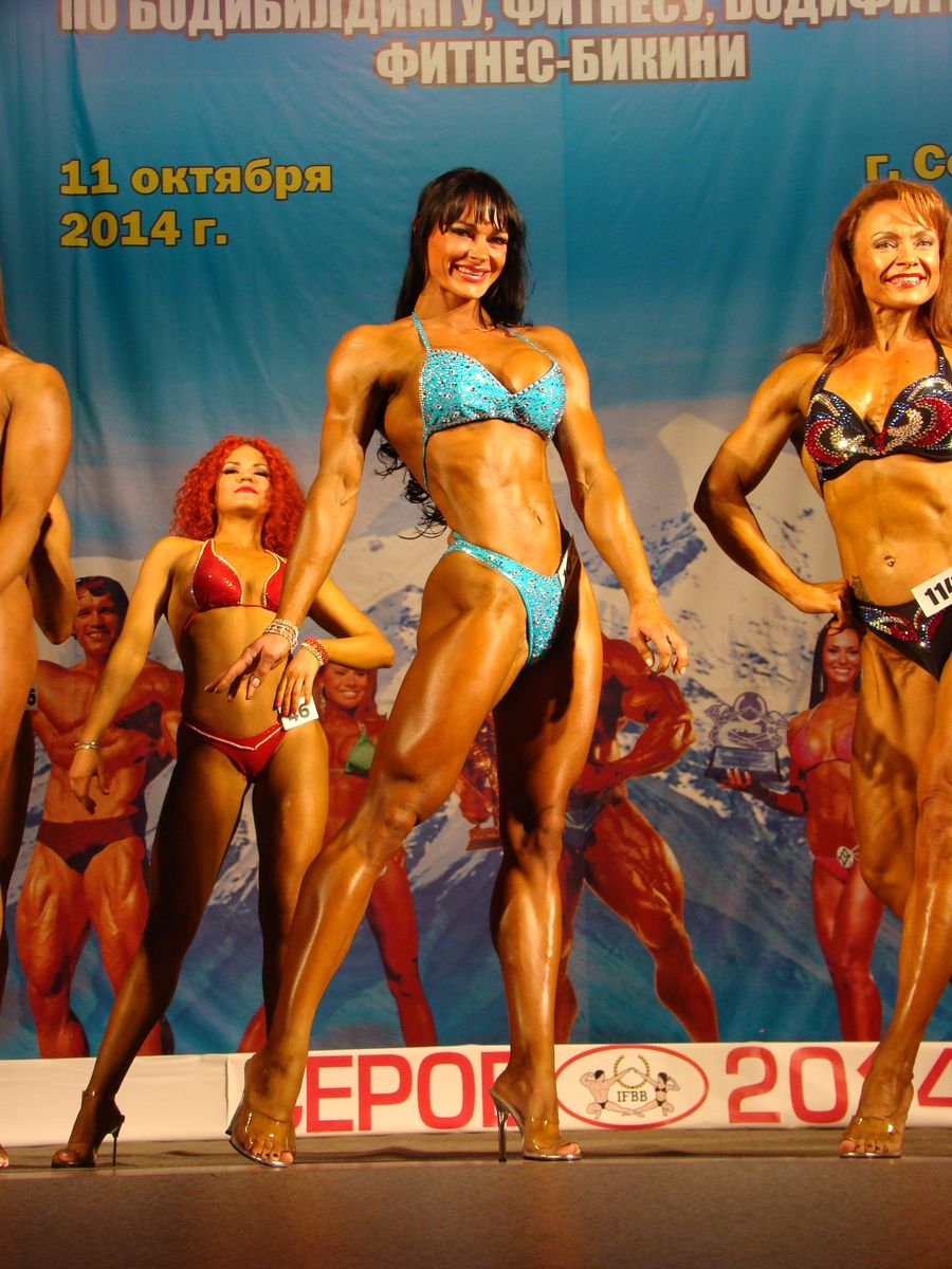 Мария Кузьмина - чемпионка по бодифитнесу