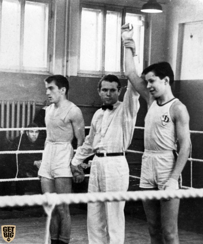 Владимир Дубинин на боксерском ринге