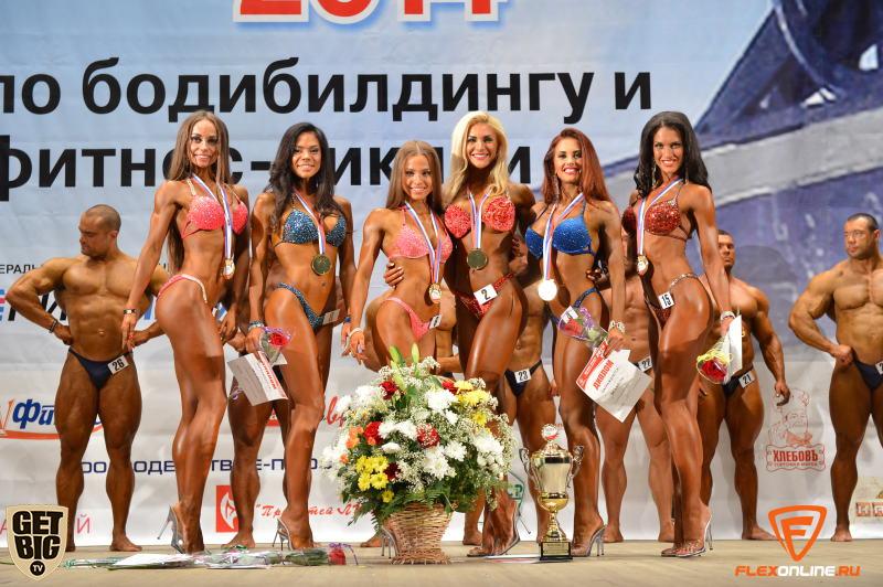 Ольга Путрова и финалистки турнира