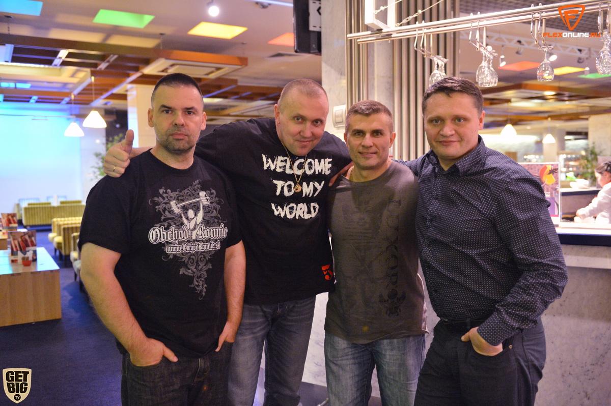 Наши коллеги во главе с Денисом Логиновым