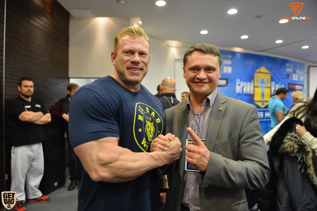 Денис Логинов и Деннис Вульф