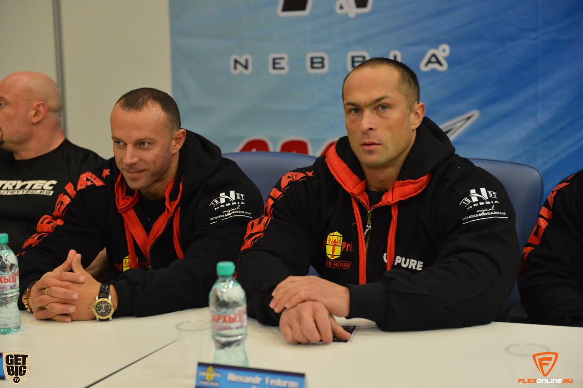 Алексей Шабуня и Александр Федоров
