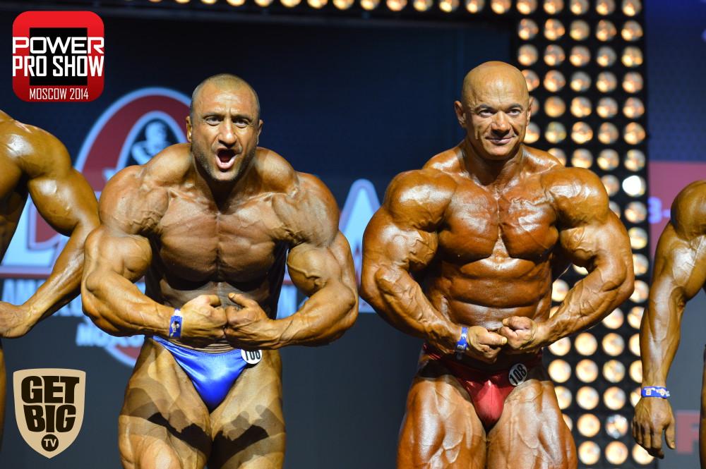 Влад Фатьянов и Александр Слободянюк (+100 кг)