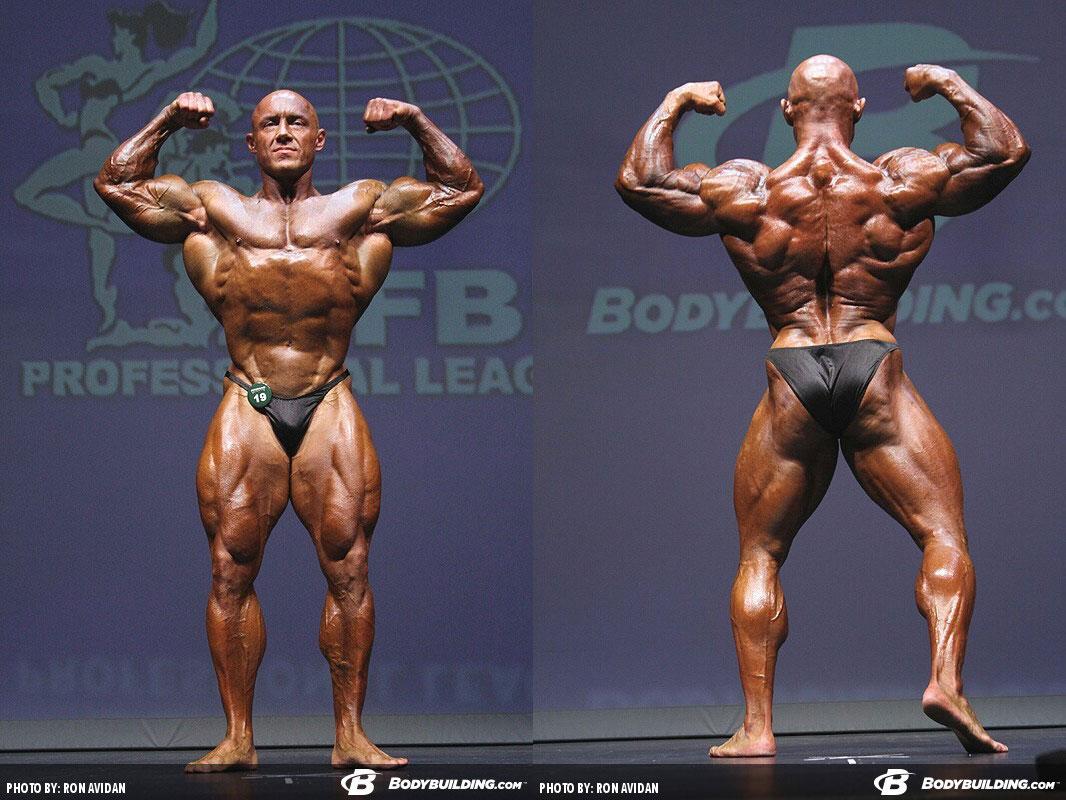 Владимир Сизов - 13 место на турнире IFBB «Феррино Легаси» - 2014