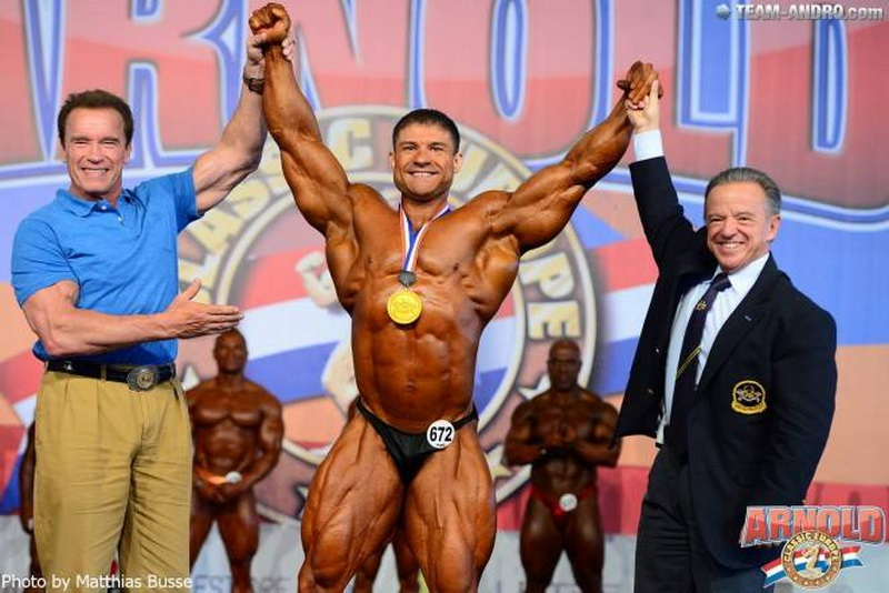 Виталий Фатеев - абсолютный чемпион европейского «Арнольд Классик»-2014