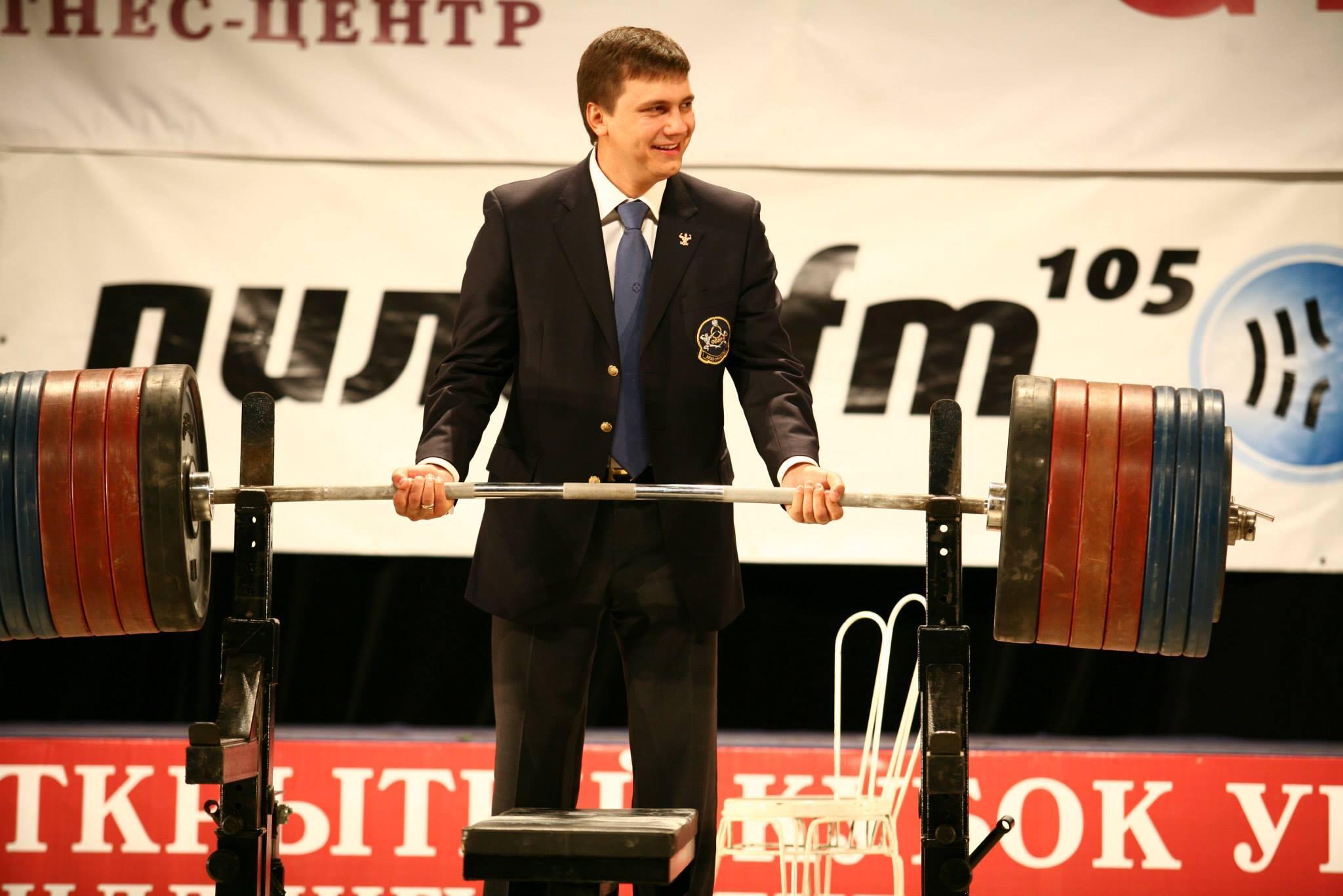 Антон Гиренко-Коцуба - президент федерации бодибилдинга и фитнеса России по УрФО, вице-президент ФБФР