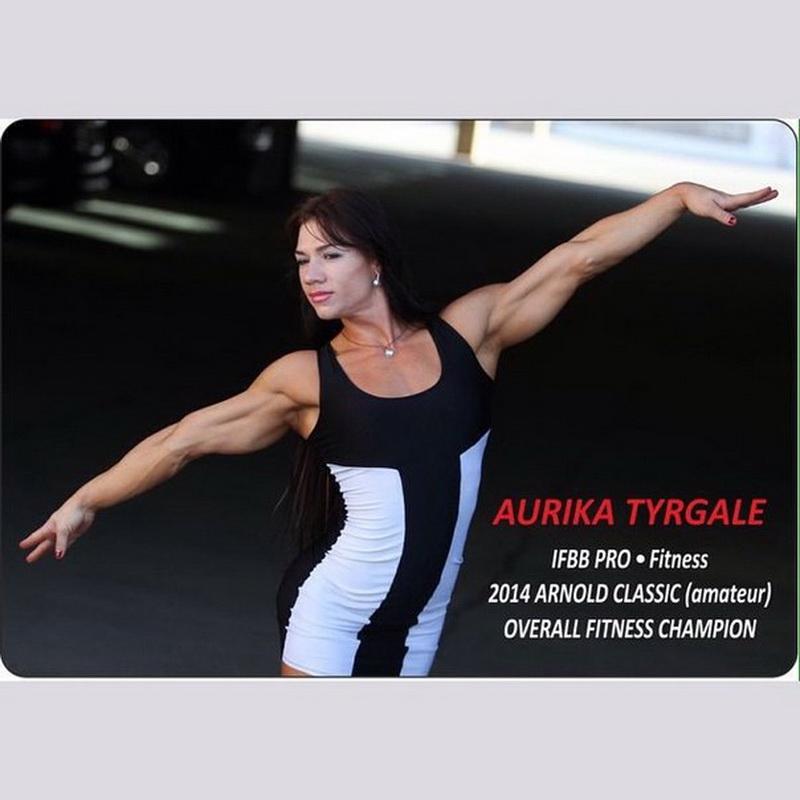 Аурика Тыргалэ - чемпионка любительского «Арнольд Классик» по фитнесу, профессионалка IFBB
