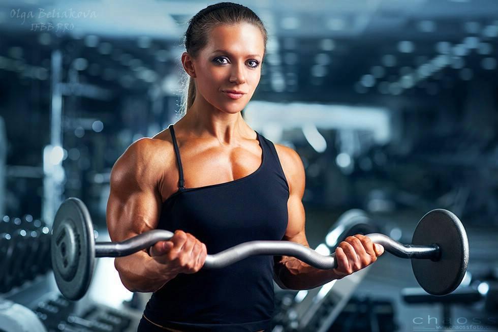 Ольга Белякова - чемпионка мира по бодибилдингу - 2013, профессионалка IFBB