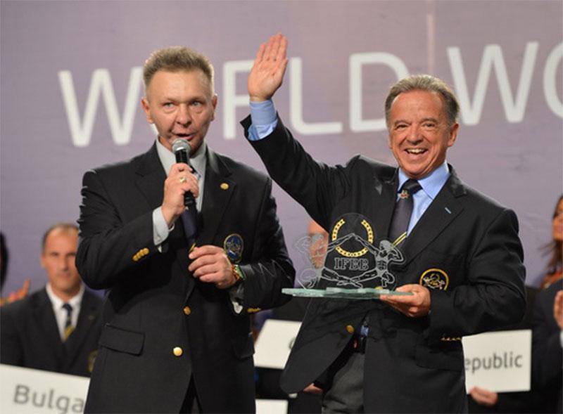 Игорь Делиев - президент Федерации бодибилдинга и фитнеса Украины