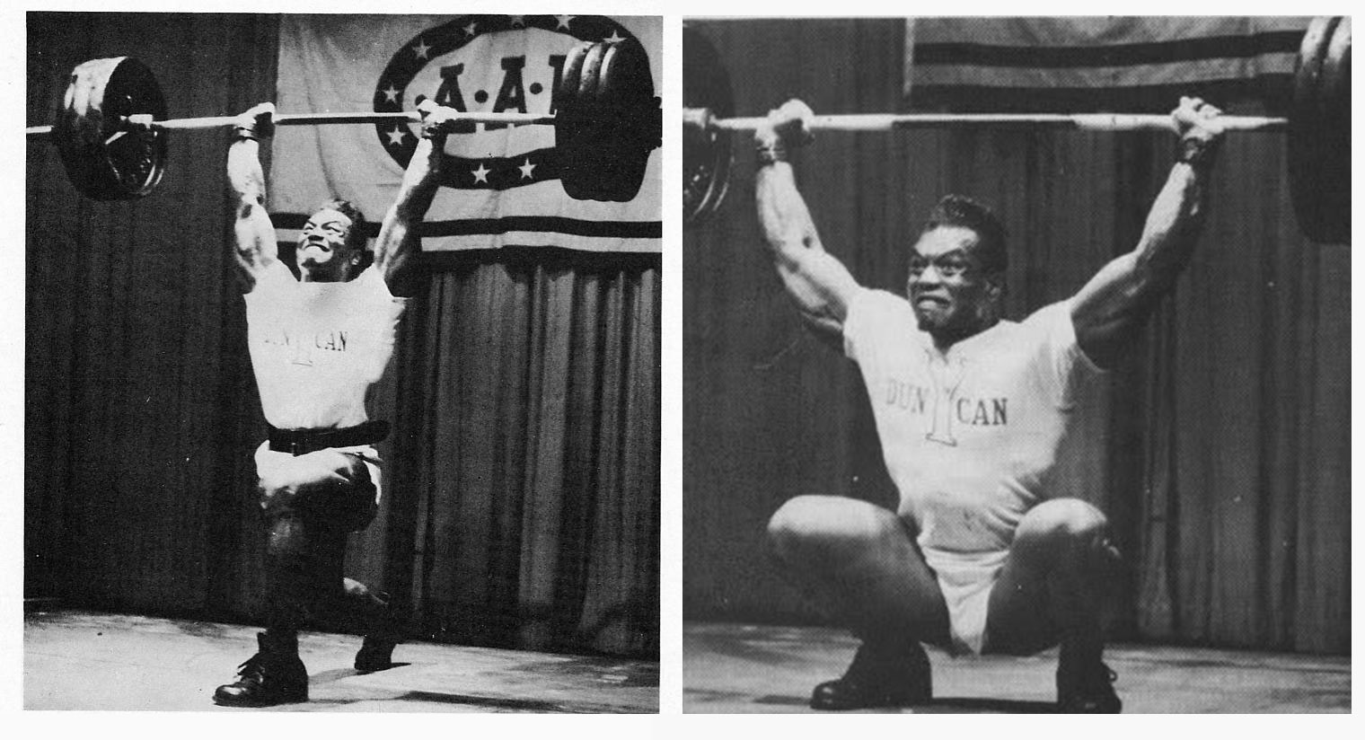 Серджио Олива в тяжелой атлетике