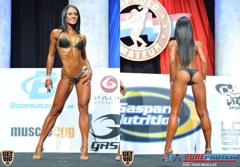 Лиана Мороз - чемпионка «Арнольд Классик» - 2014 (США)