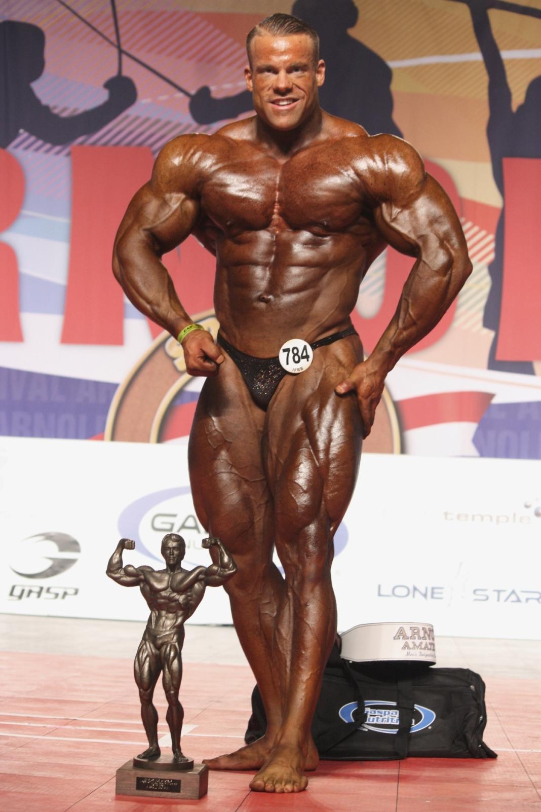 Men's Bodybuilding – Lukas Wyler of Switzerland (784)