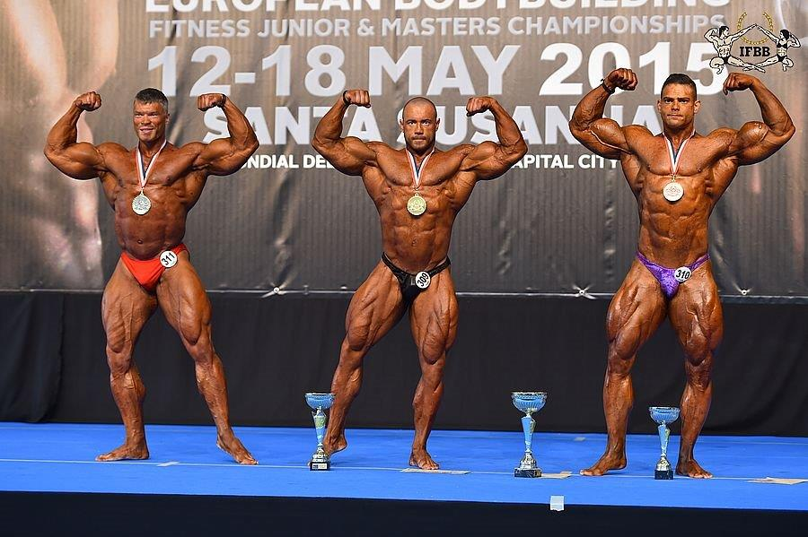 +100 кг - Andrey MAKEEV (2nd place); Alexey TRONOV (1st place); Alfredo TEIXERA (3rd place)
