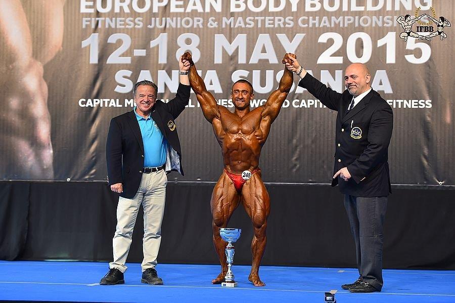 Абсолютный чемпион Европы - Oleh KRYVYI (Ukraine)