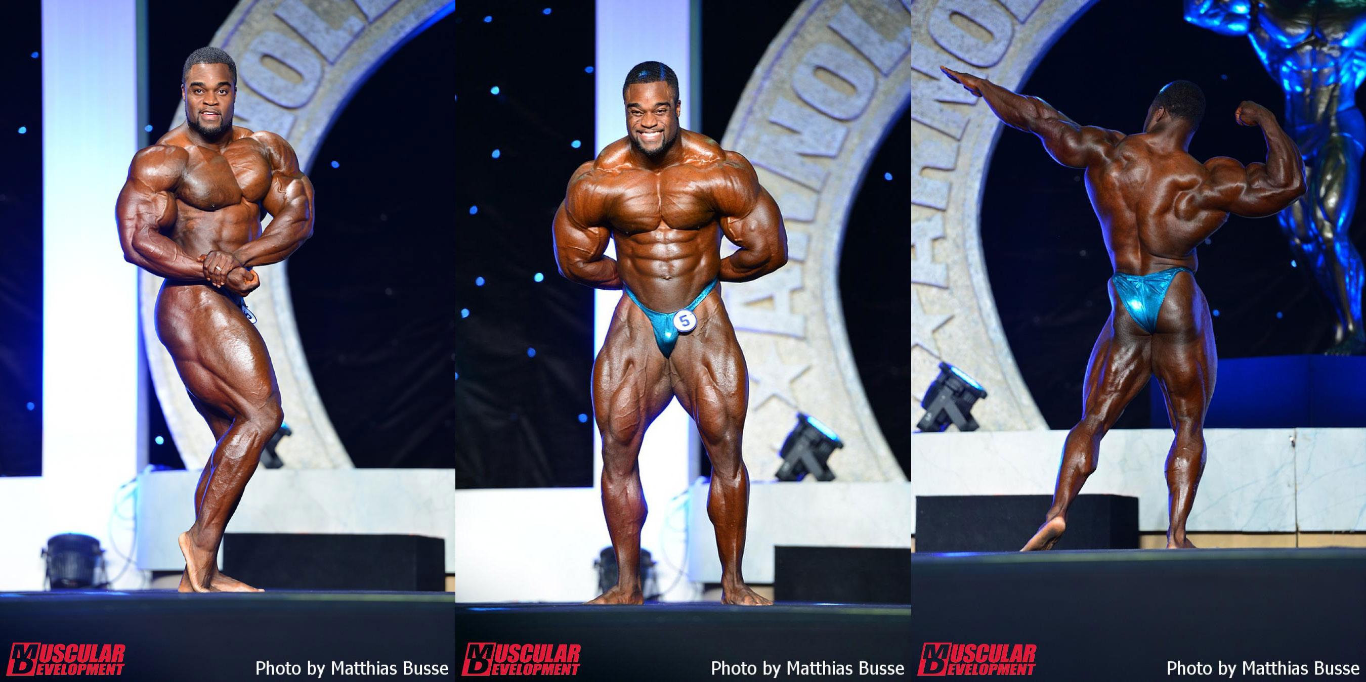 Brandon Curry - 6 место