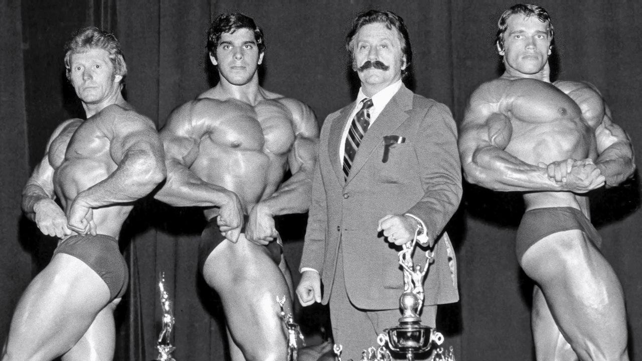Arnold Schwarzenegger & Lou Ferrigno