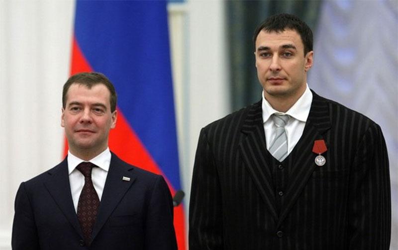 Дмитрий Медведев и Алексей Воевода