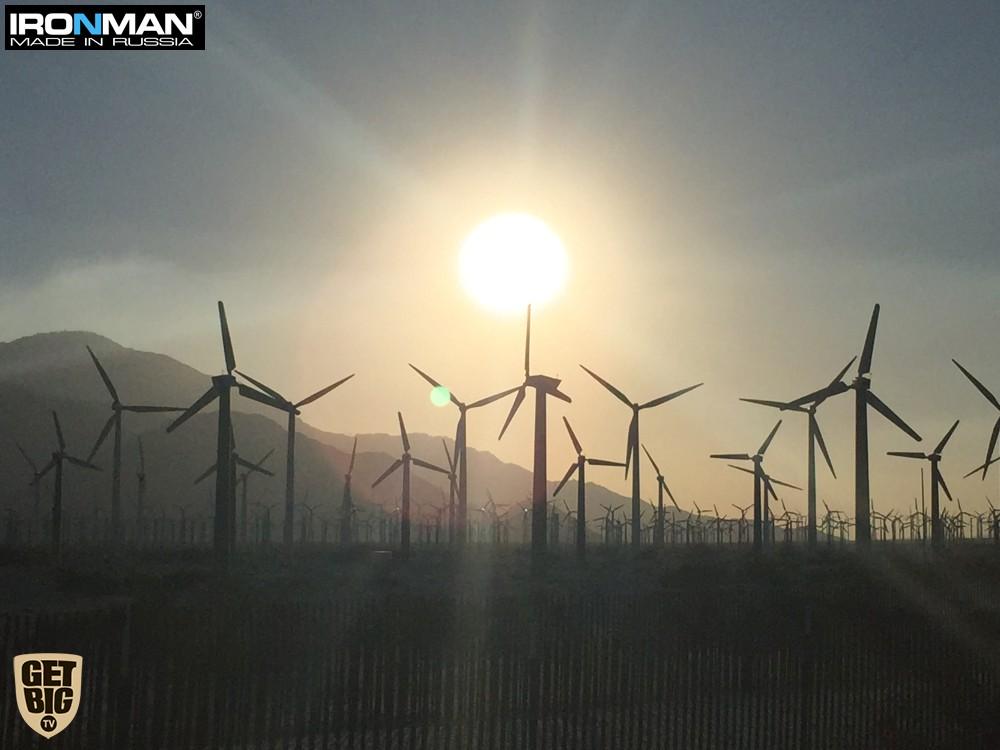 Ветряные электрогенераторы Палм Спрингс