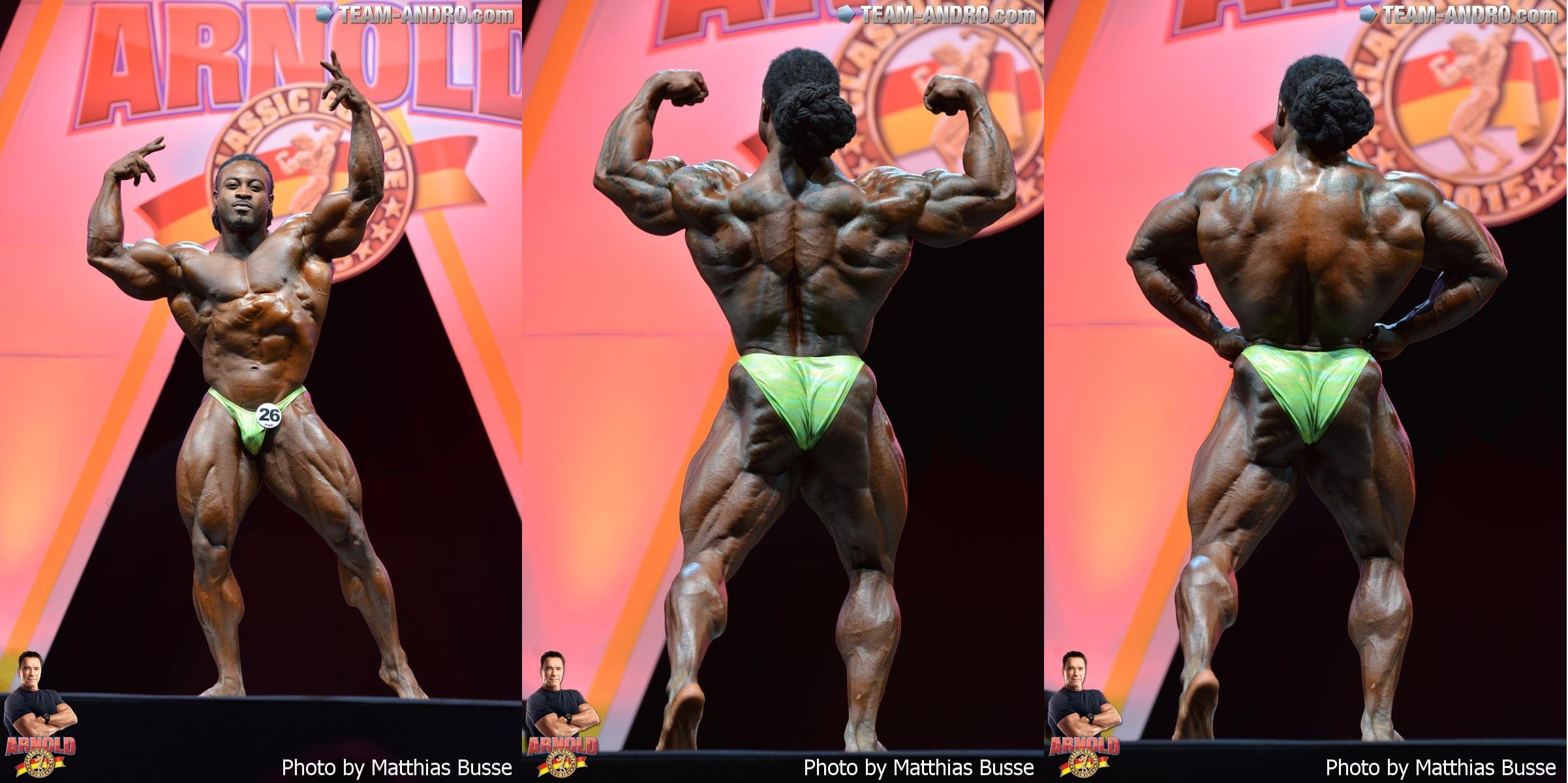 William Bonac (Netherlands) - 6 место