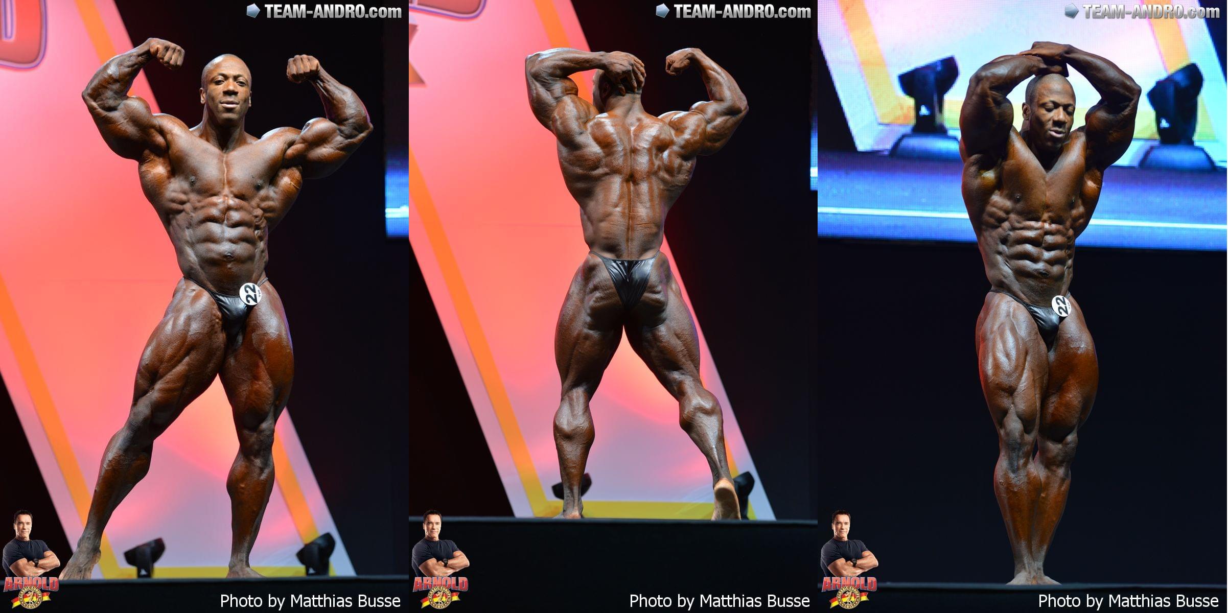 Shawn Rhoden (USA) - 2 место