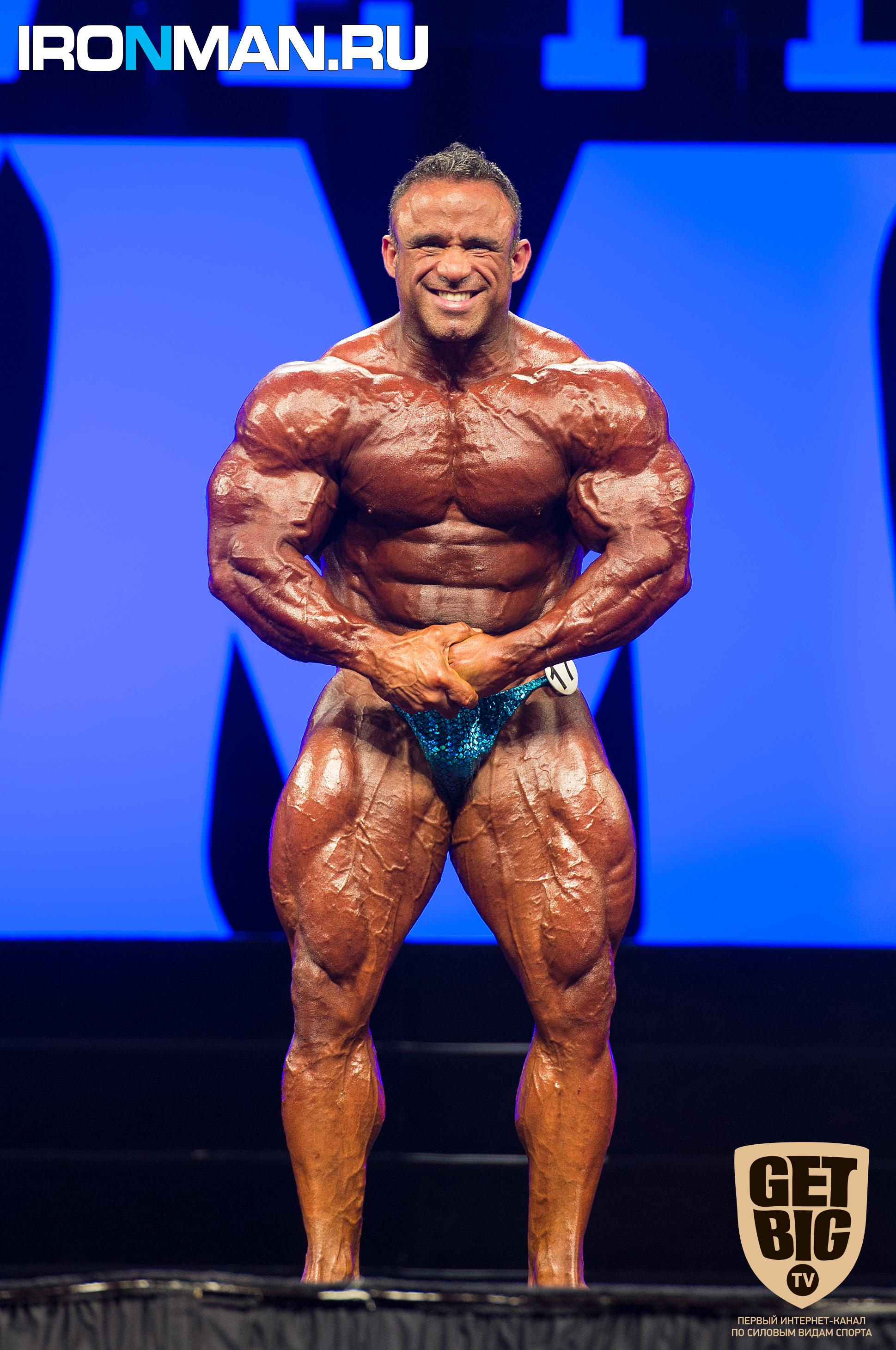 Хосе Раймонд - «Вице-Мистер Олимпия 212»-2015
