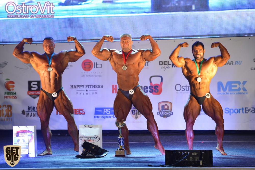 Дмитрий Крылов (2 место), Сергей Зебальд (1 место), Ашот Каграманян (3 место)