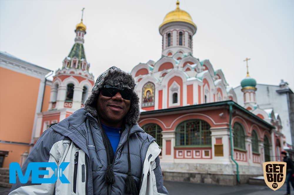 Флекс Уиллер в Москве на Красной площади