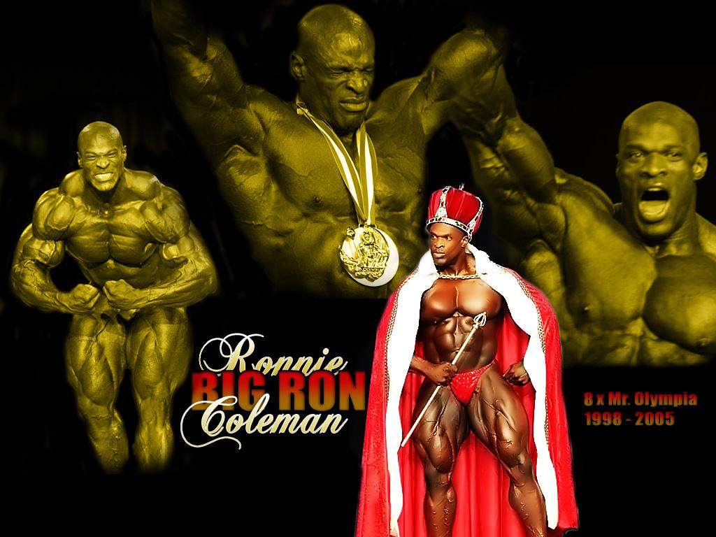 8-кратный «Мистер Олимпия» Ронни Колеман в России