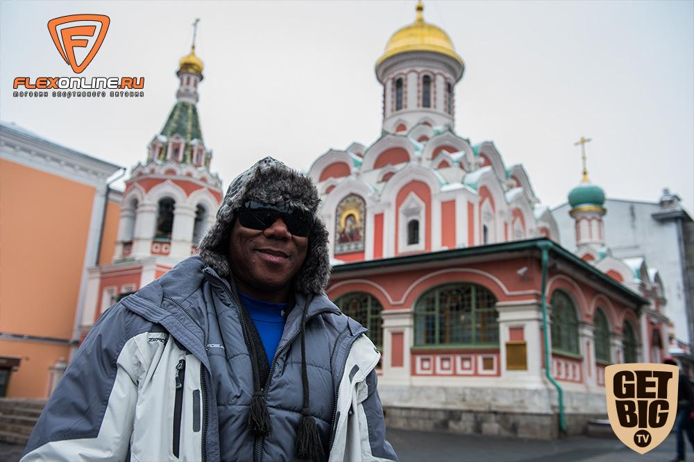 Флекс Уиллер на Красной площади