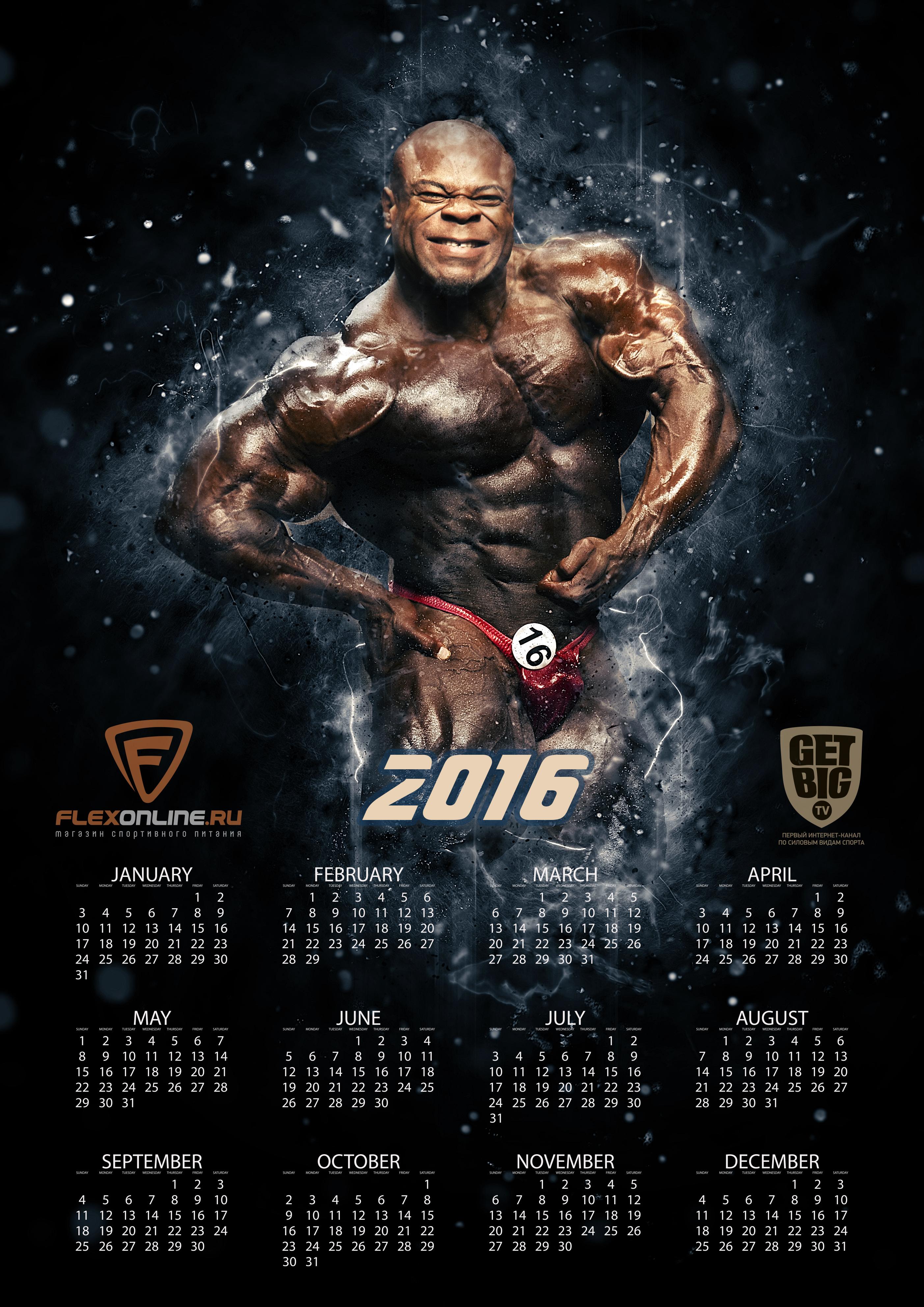 Календарь на 2016 год [Кай Грин]