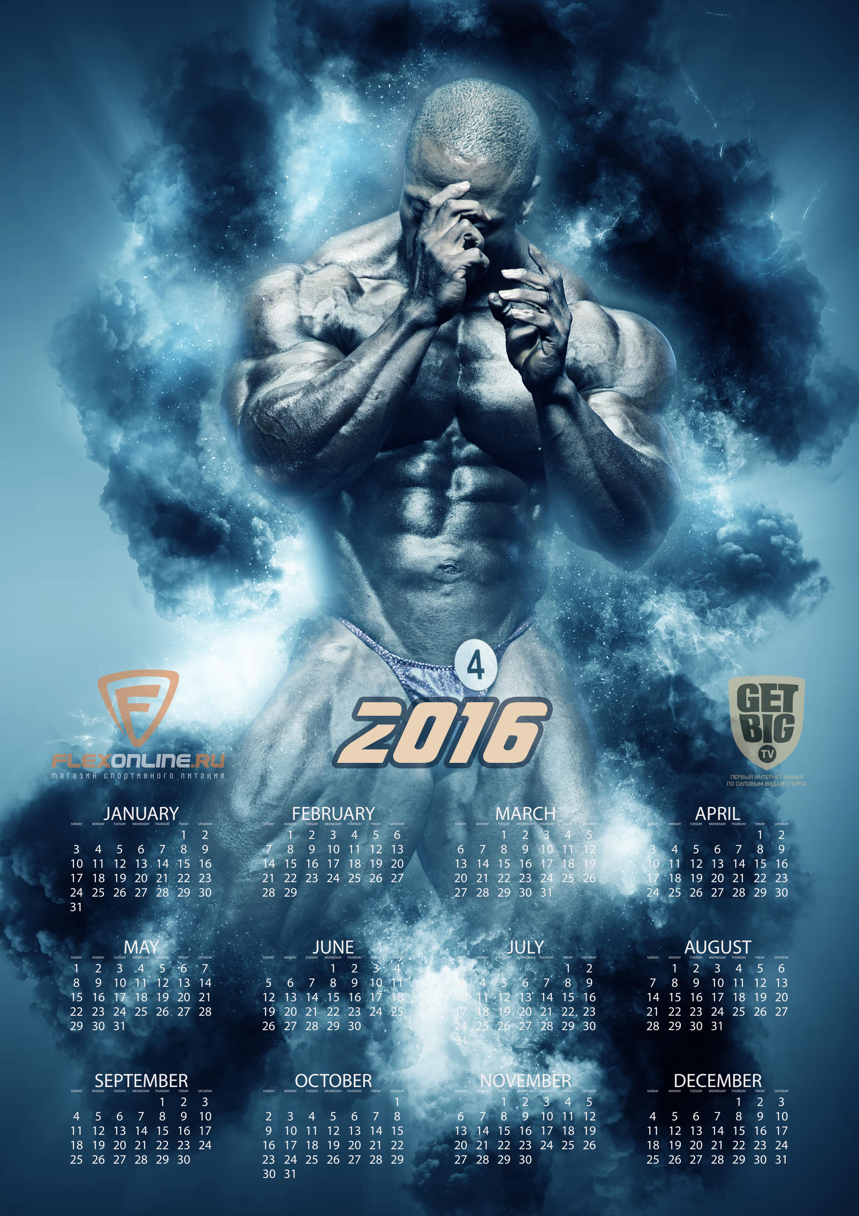 Календарь на 2016 год [Шон Роден]