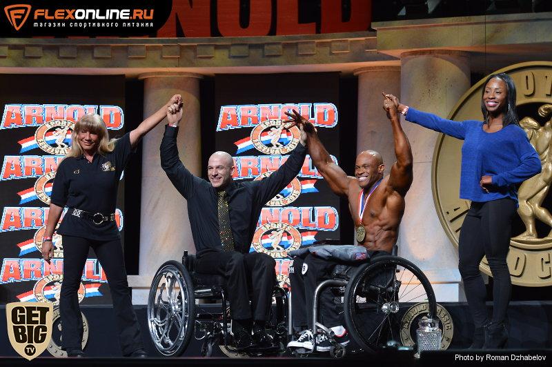 Гарольд Келлей - чемпион «Арнольд Шварценеггер Классик»-2016 в категории инвалиды-колясочники