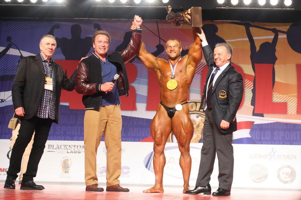 Mens Bodybuilding Overall Winner Sergey Kulaev