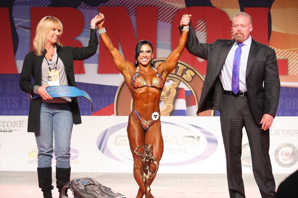 Womens Physique Overall Winner - Fernanda Gutilla of Brazil
